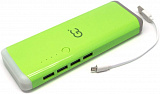 POWER BANK 10000 МАН GP-10.0 GN GREEN 4 USB С LED ФОНАРИКОМ GC