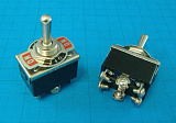 ТУМБЛЕР 250V 10A 6PIN (ON)-OFF-(ON) KN3(C)-223A-B3/KN-223