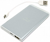 POWER BANK 4000 MAH GP-4.0 SR (SILVER) С LED ФОНАРИКОМ GC